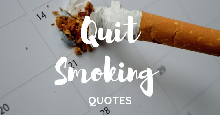 80 BEST QUIT SMOKING QUOTES