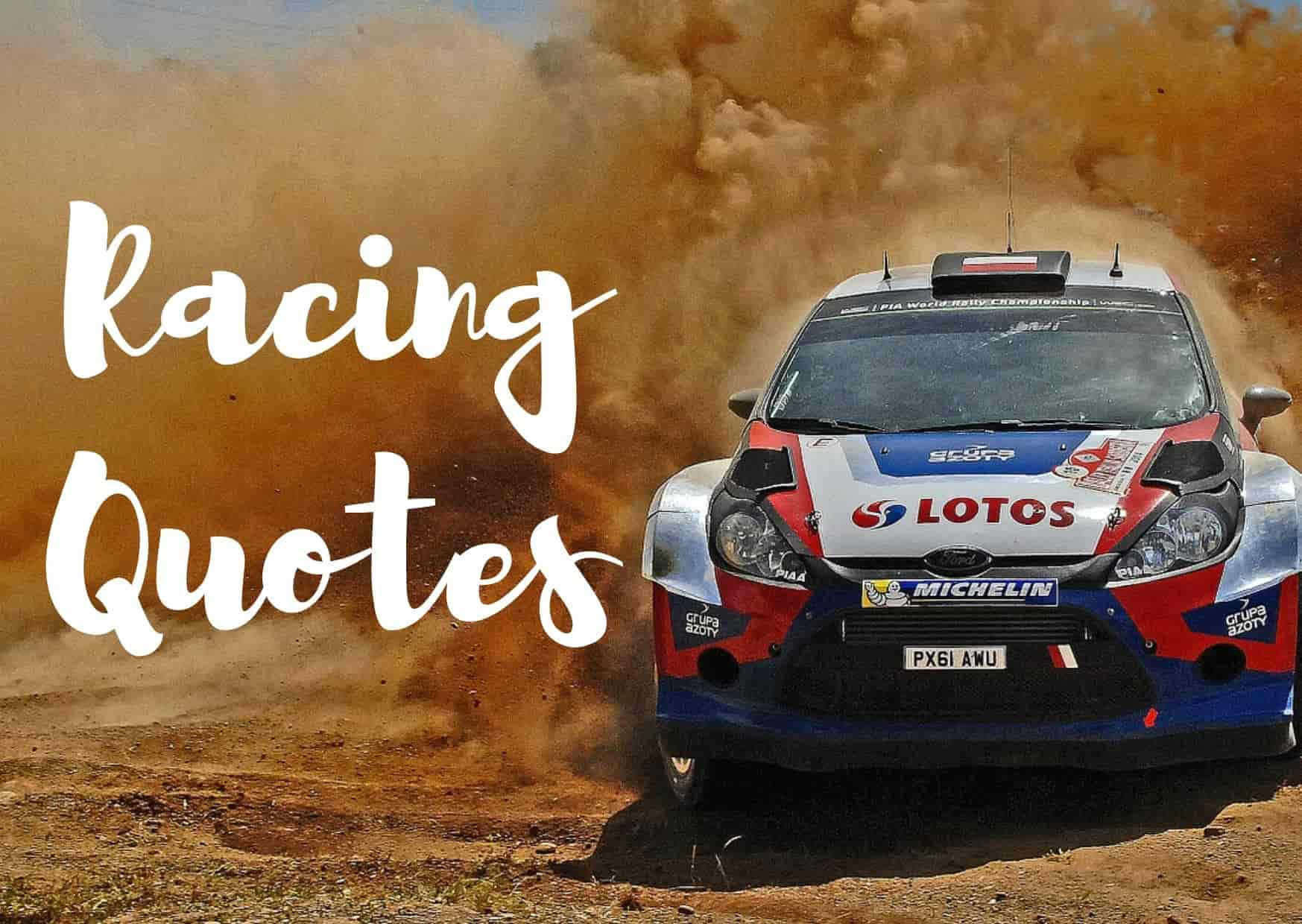 Top 48 Motor Racing Quotes